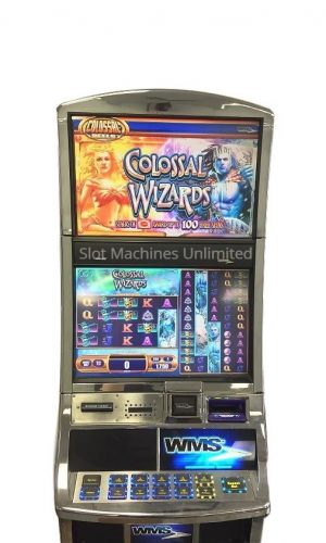 Colossal Wizards slot machine