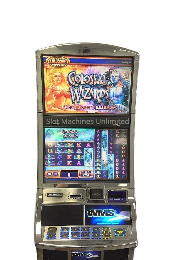 Colossal Wizards slot machine