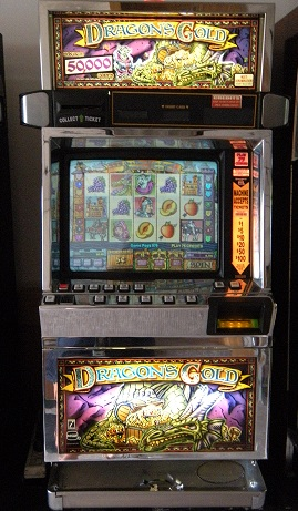 Dragon's Gold video slot machine