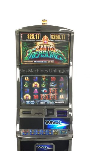 Exotic Treasures slot machine
