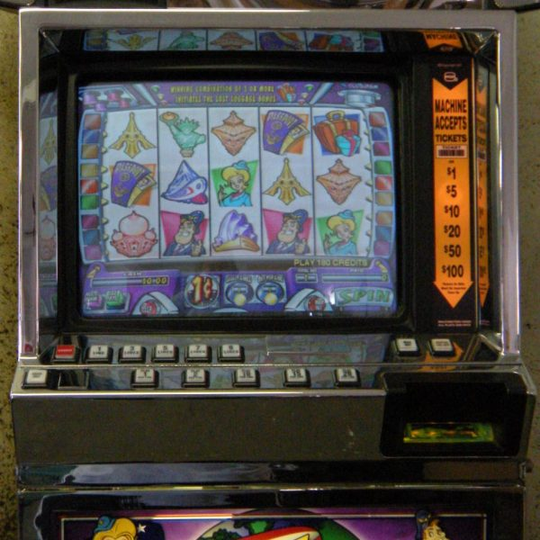 Frequent Flyer video slot machine