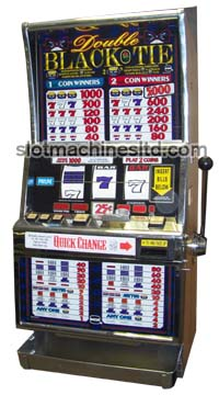 Double Black Tie slot machine