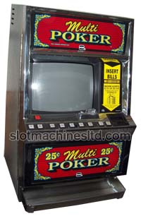 MULTI-GAME VIDEO POKER