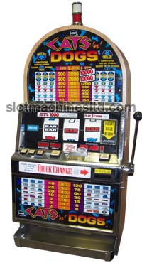 Cats & Dogs slot machine