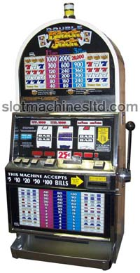 Double Blackjack slot machine