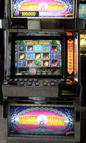 Monster Mansion video slot machine