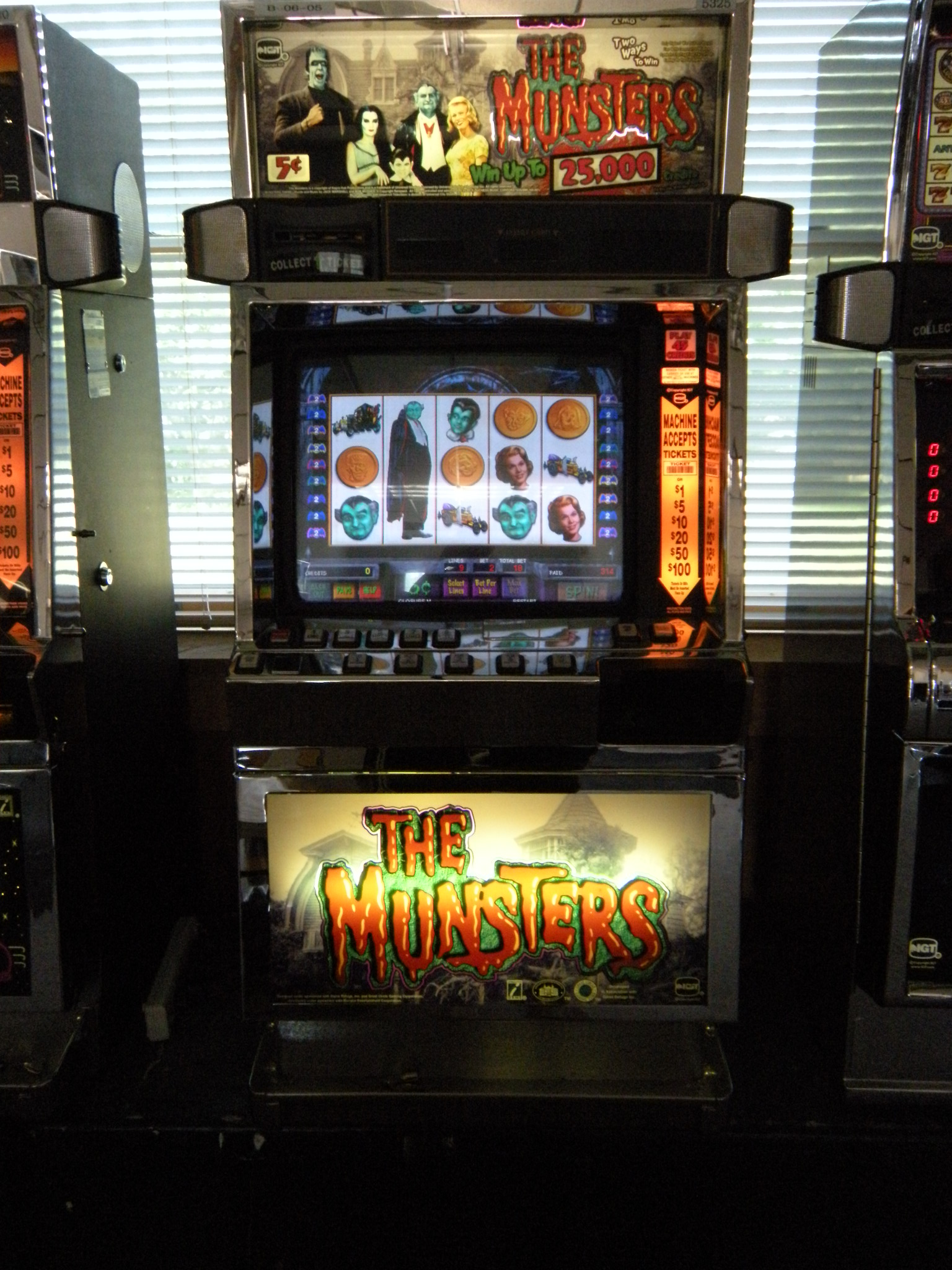 The Munsters Slot Machine Download