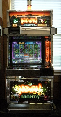 Neon Nights video slot machine