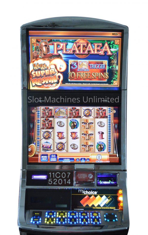 Plataea slot machine