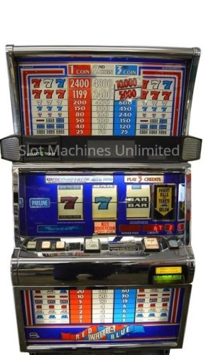Red White & Blue slot machine