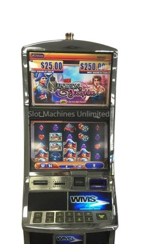 Napoleon and Josephine slot machine