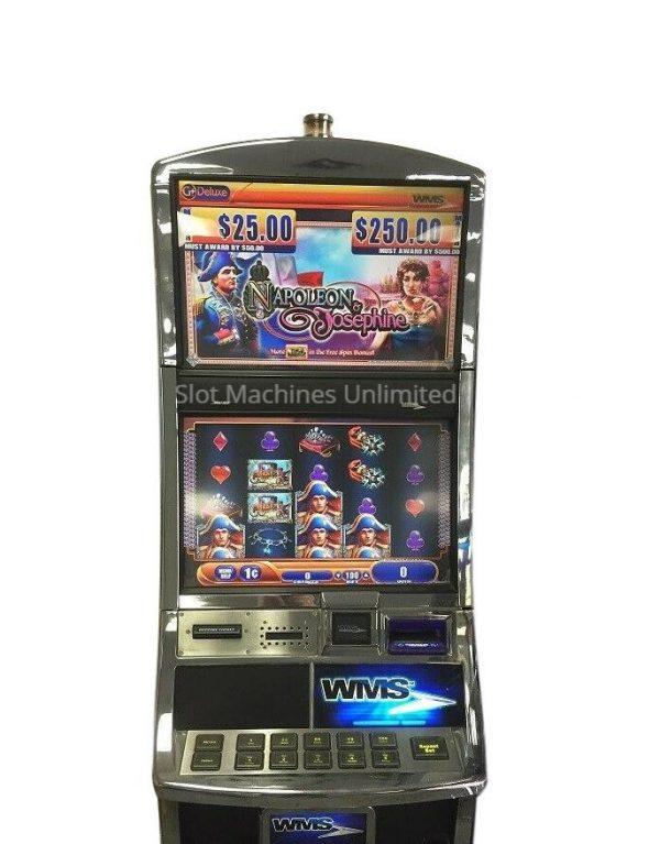 Napoleon and Josephine slot machine