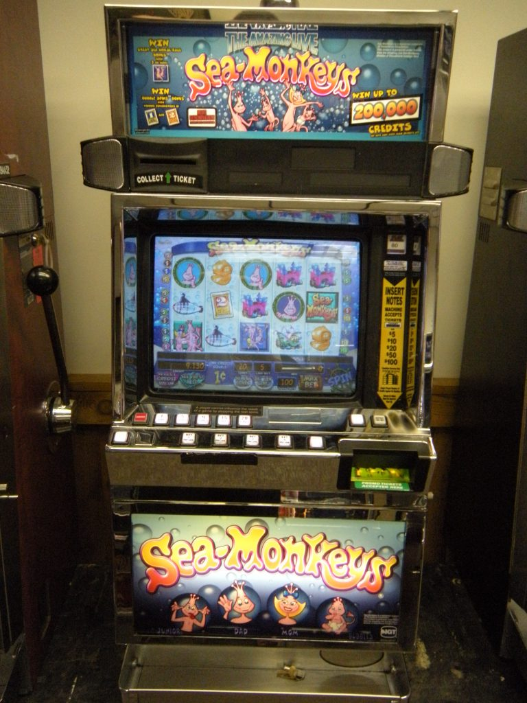 Sea Monkeys video slot machine - Slot Machines Unlimited