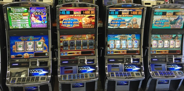 Video games slot machines casino iowa resort riverside