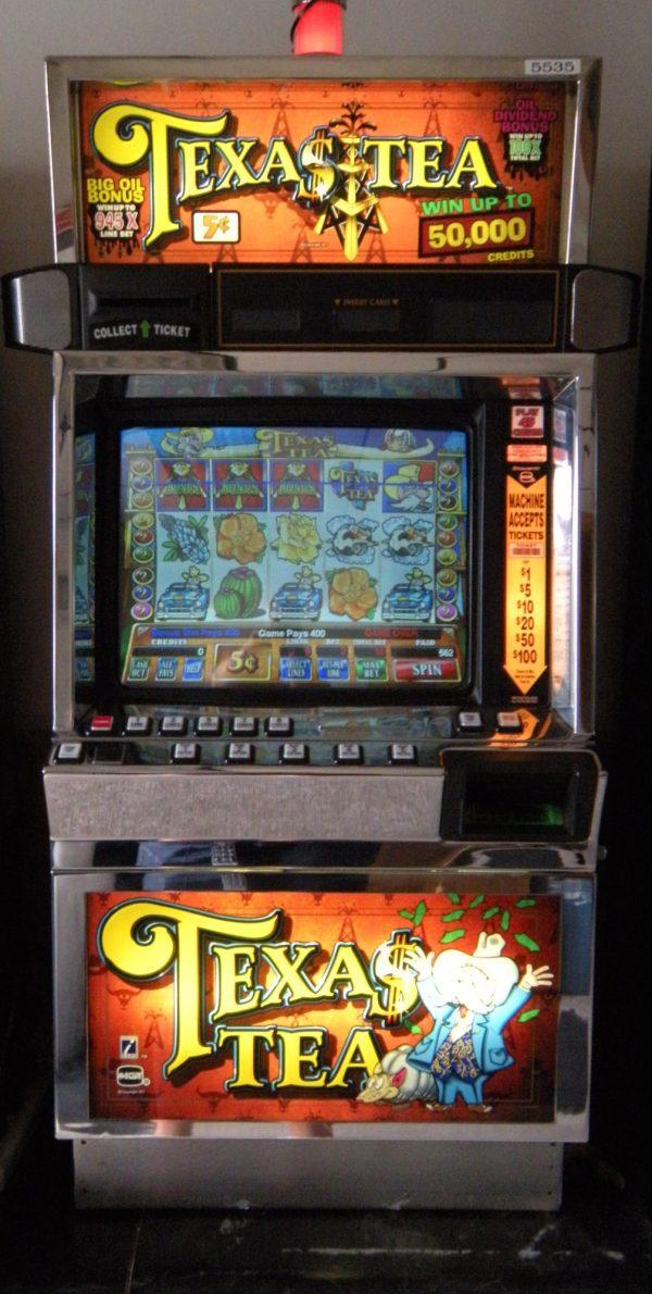 Texas Tea video slot machine