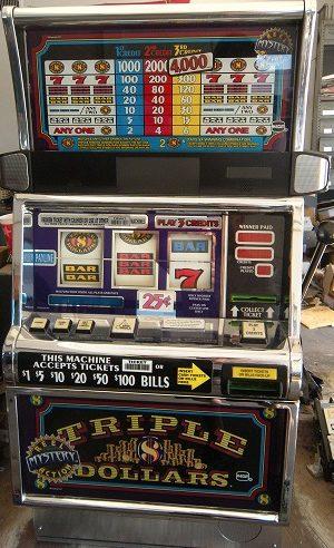 Triple Dollars Mystery reel