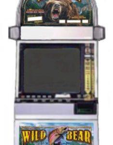 Wild Bear Salmon Run video slot machine