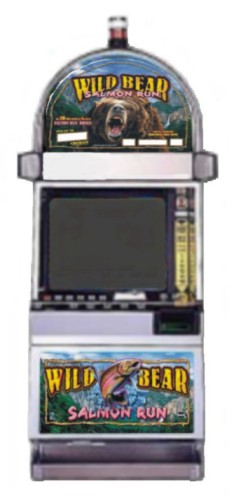 Wild Bear Salmon Run video slot machine
