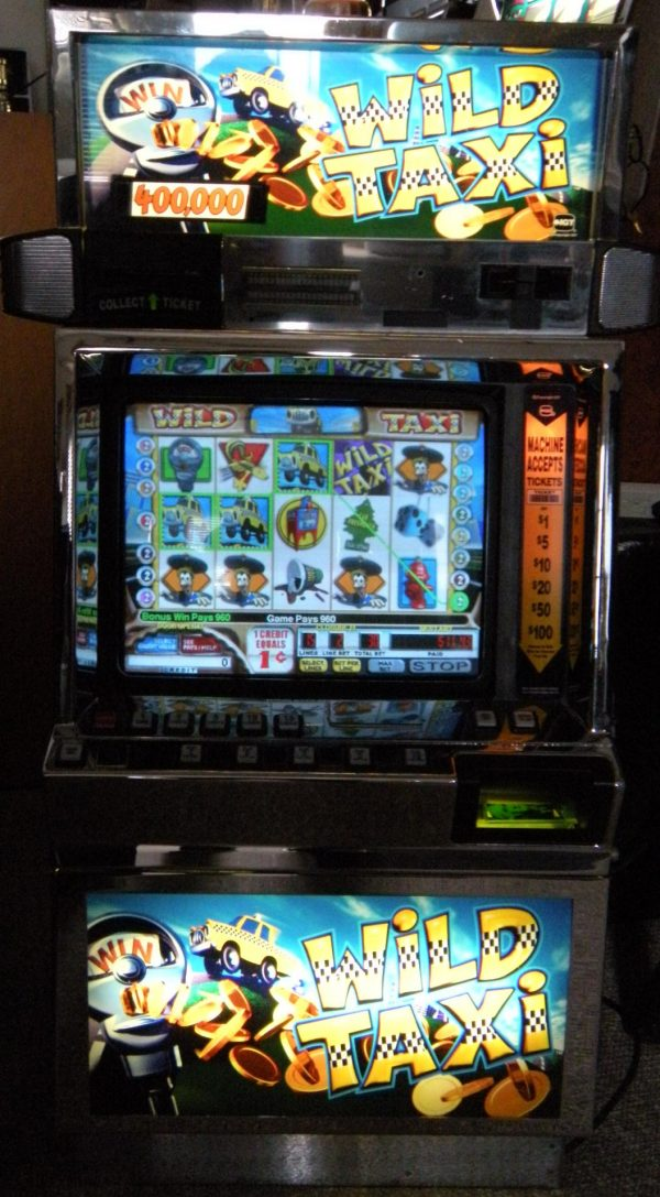 Wild Taxi video slot machine