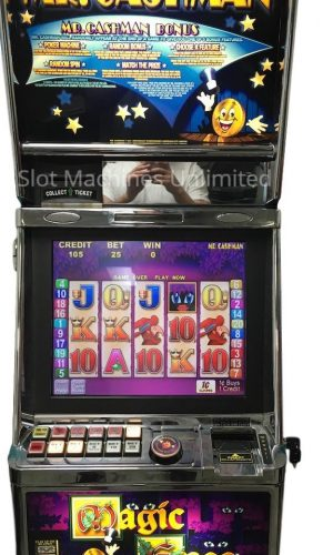 Mr. Cashman Magic Eyes slot machine