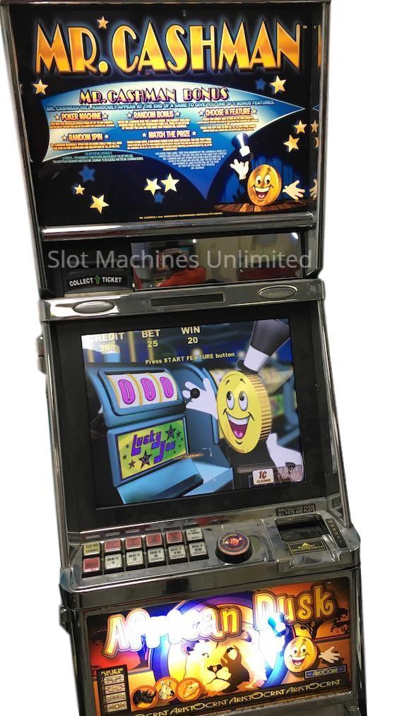 Mr. Cashman African Dusk slot machine