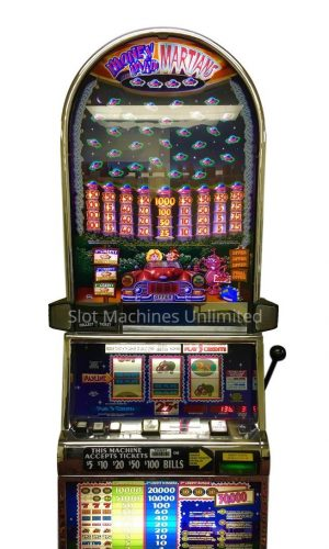 Money Mad Martian slot machine