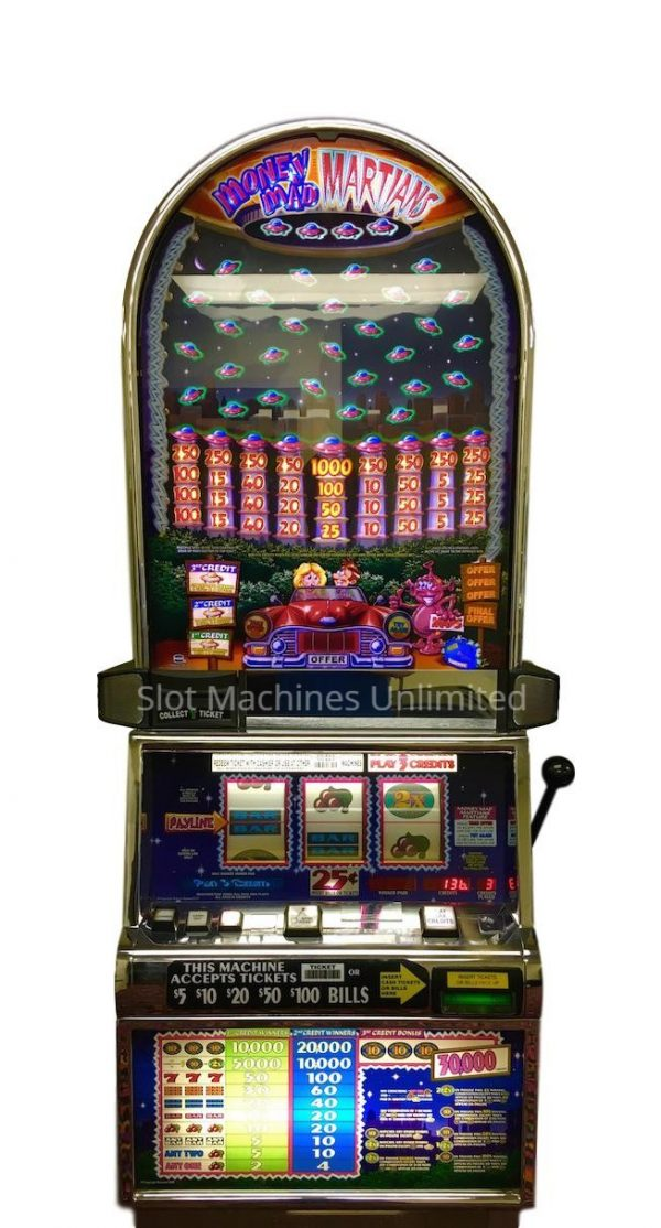Money Mad Martian slot machine