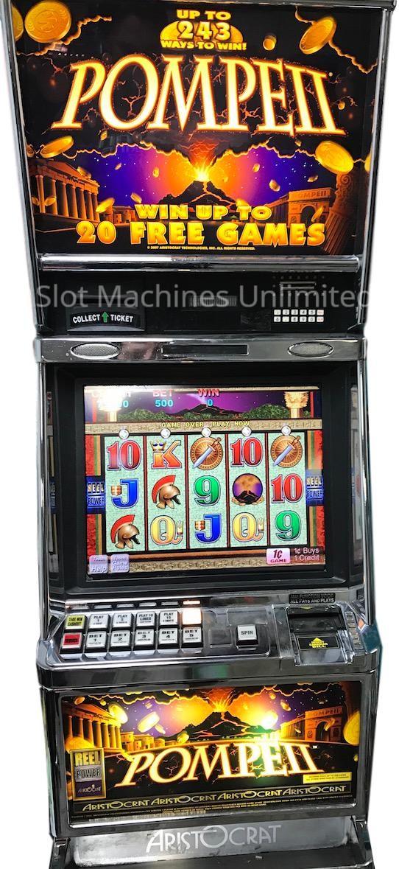 Pompeii slot machine