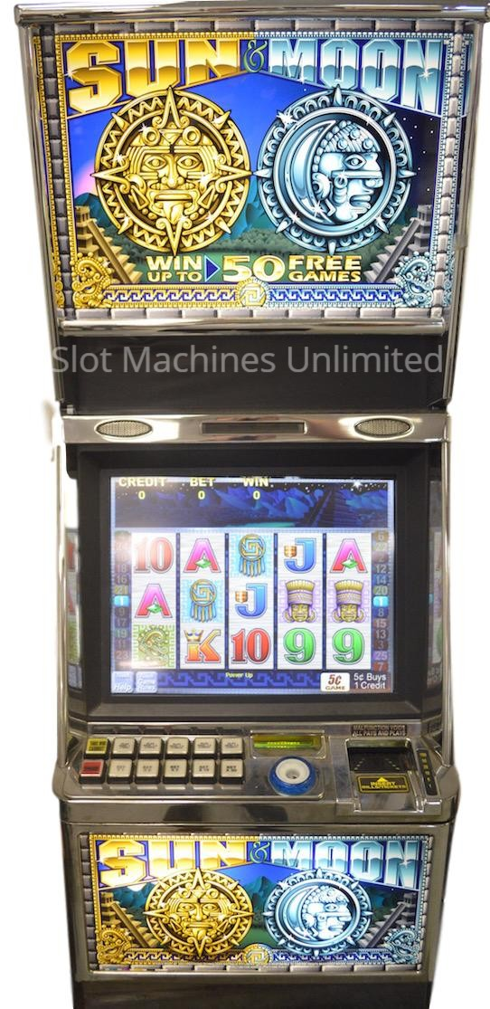 Sun and Moon slot machine