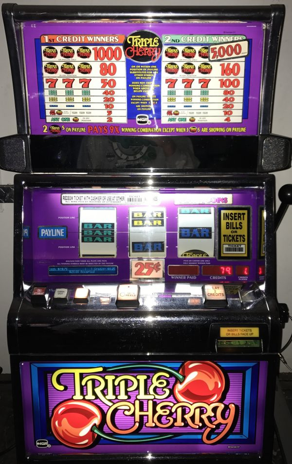 Triple Cherry IGT Slot Machine