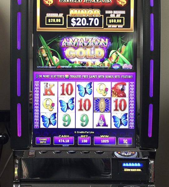 Amazon Gold slot machine
