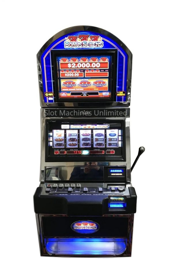 Bonus Sevens slot machine