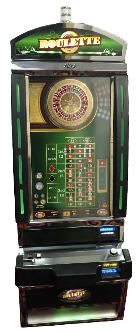 Bally poker machines