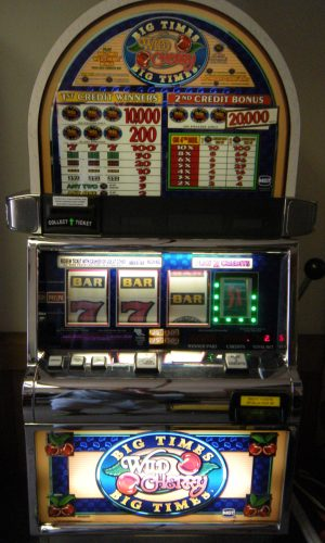 Big Times Wild Cherry slot machine