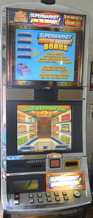 Supermarket Sweep slot machine