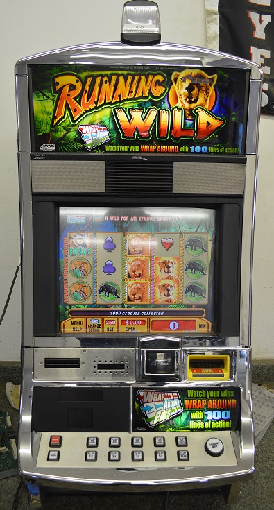 Running Wild slot machine