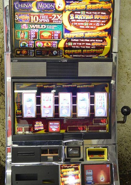 China Moon slot machine