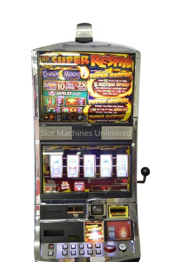 China Moon slot machine