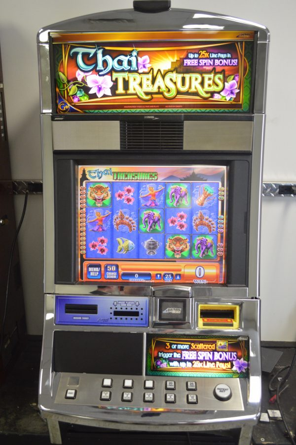 Thai Treasures slot machine
