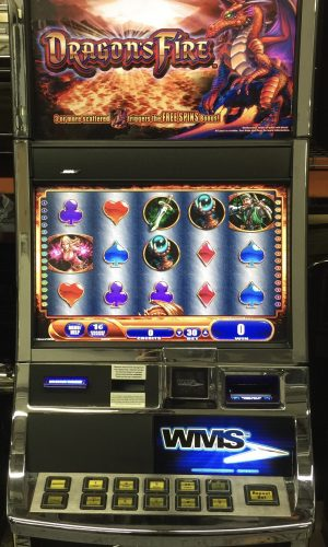 Dragon's Fire slot machine