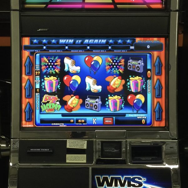 Williams jackpot party slot machine for sale