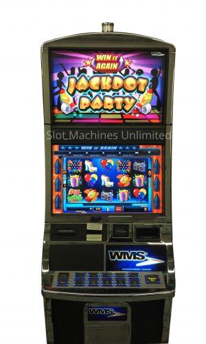 Jackpot Party Win It Again slot machine