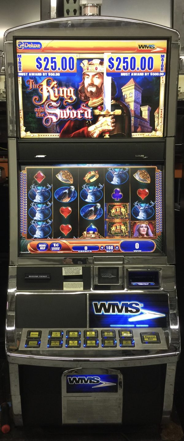 The King and the Sword slot machine