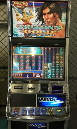 Triton's Gold slot machine