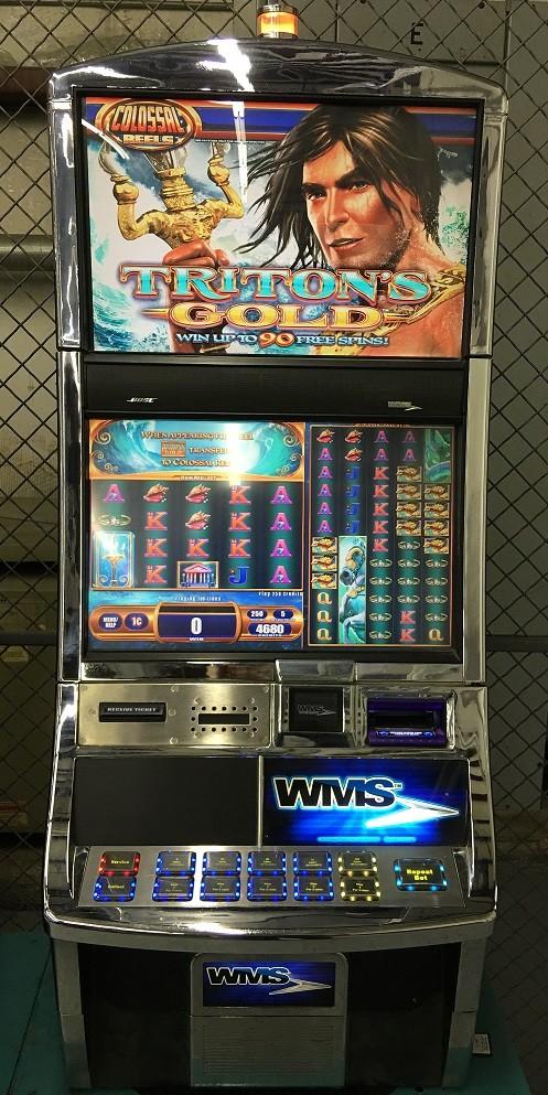 Triton's Gold slot machine
