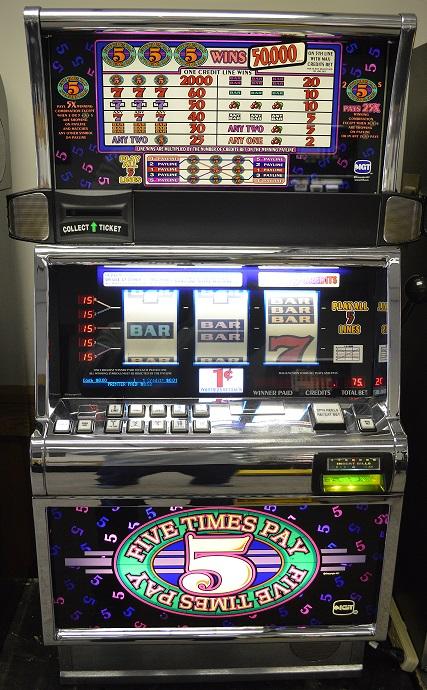 5x Pay Multi-Line slot machine