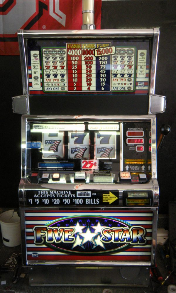 Top star slot machine