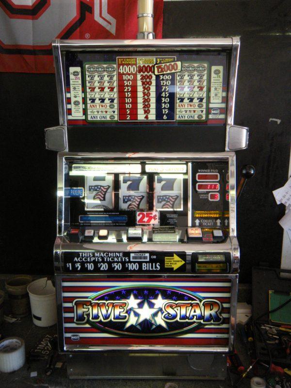 Five Star slot machine