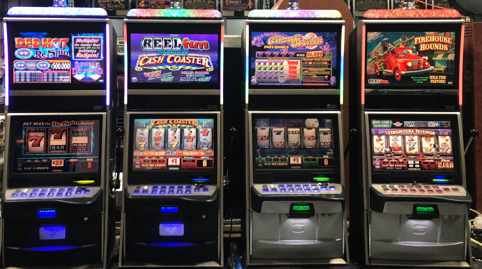 List of slot machines at muckleshoot casino beginners guide to gambling in vegas