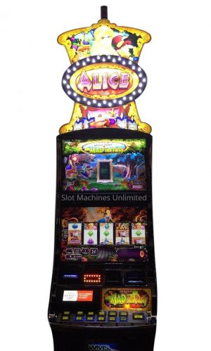 Alice In Wonderland slot machine